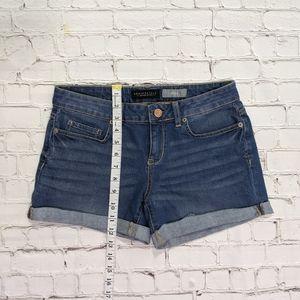 Aeropostale Shorts - Aeropostale Midi Blue Jean Shorts